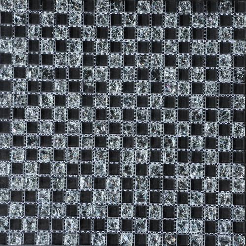 2924 Stakleni Mozaik Black 007