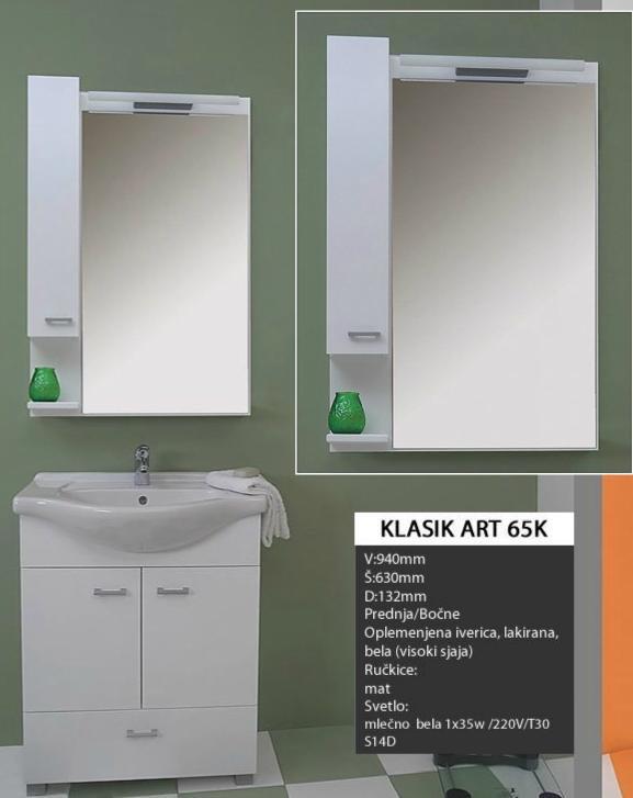 4340 Toaletno Ogledalo  KLASIK ART 65K