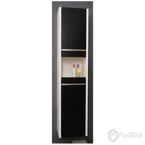 4626 Toaletni Ormaric Plazma V Black