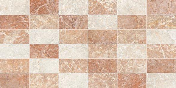 4932 Kp Palazzo mosaico rosso 25x50 1.62B