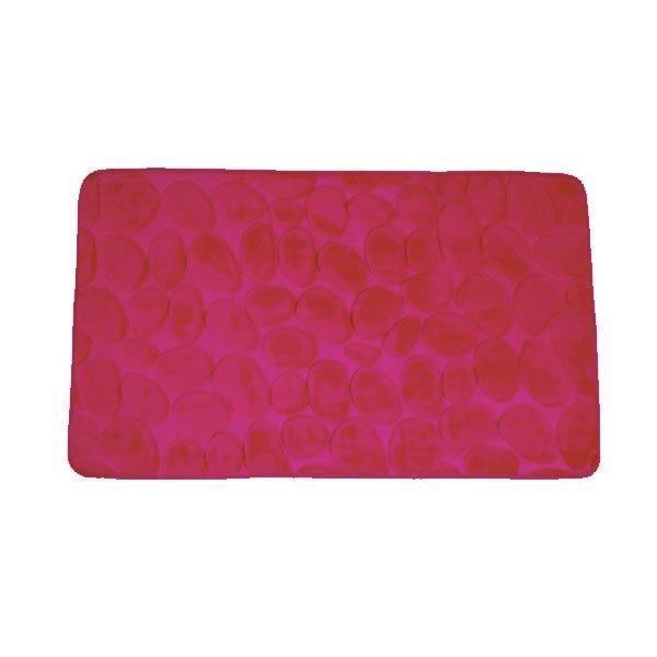 5640 Prostirka za kup. reljefna 50x80 pink memo pena