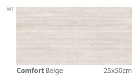 6557 Kp Comfort Beige 25x50 1.62m2 B