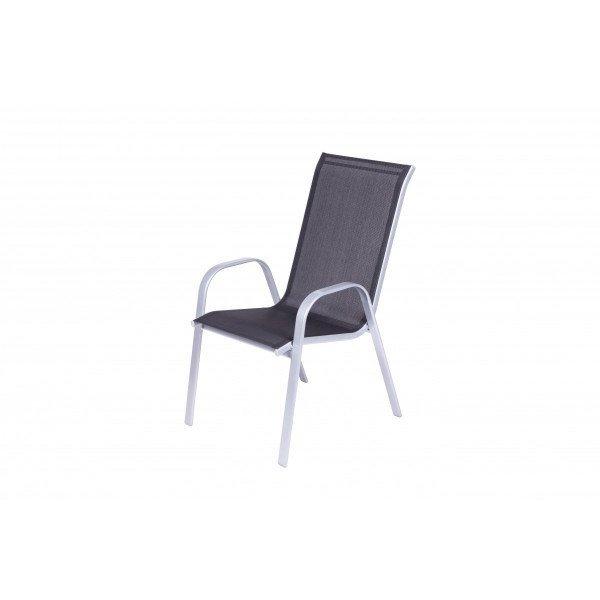 7255 Bastenska stolica sivo-crna Como 046994