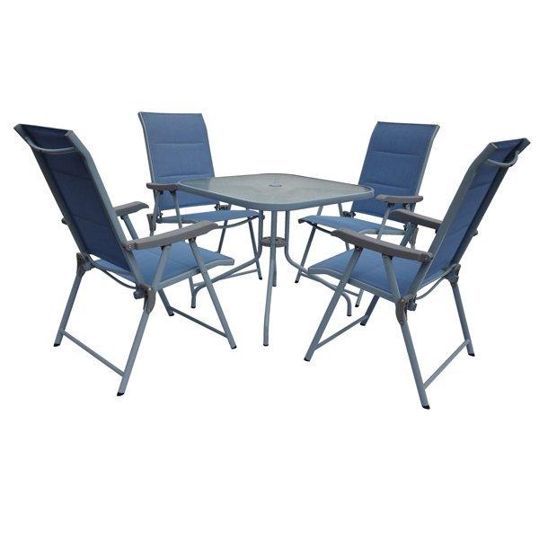 7383 Bastenski set sto+4 stol. Milica Nexsas