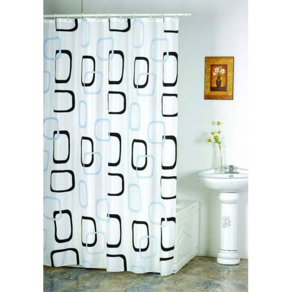 8040 Zavesa za kupatilo 180x200 poliester wurth