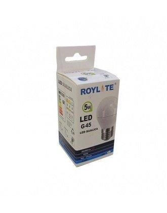 8624 Sijalica Led Roylite G45 5W E27 4000K 04.0561