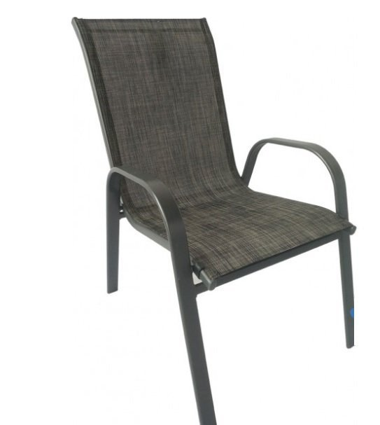 8649 Bastenska stolica siva COMO