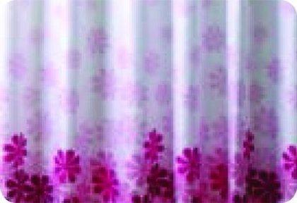 9027 Gal Kupatilska zavesa 180x200 poliester saof007 flower