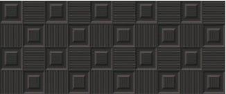 9283 Kp Astun cubic negro brillo 25x60 003 02 (Z) arg-088